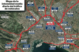 So viele Pkws auf Palmas Ringautobahn wie noch nie