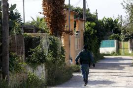 Toter trieb im Meer vor Portopetro