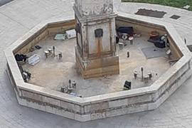 Palmas Obelisk wird zur Müllhalde