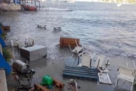 Unwetter verursacht Chaos in Port d'Andratx