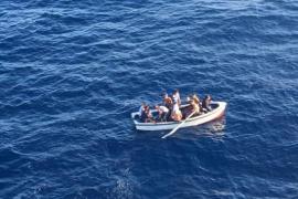 Fünf Migrantenboote auf einmal erreichen die Balearen