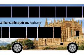 Gigantische Mallorca-Werbung auf Londons Bussen