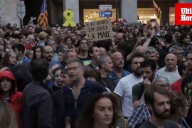 Katalanisten demonstrieren friedlich in Palma