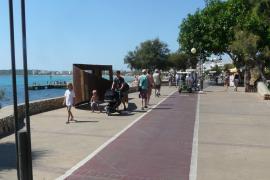 Uferboulevard von Cala Millor wird generalüberholt