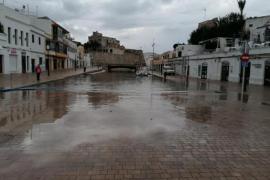 Mini-Tsunami im Hafen von Ciutadella
