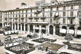 So schmuck sah die Plaça Major früher aus.