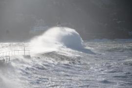 Weiterhin Warnstufe Gelb wegen Sturms auf Mallorca