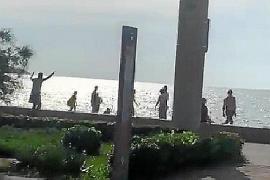 Tourist an der Playa de Palma mit Messer bedroht