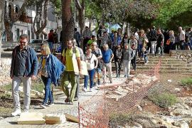 Proteste gegen neuen Uferweg in Portocolom