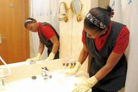 Zimmermädchen leisten jeden Tag Schwerstarbeit