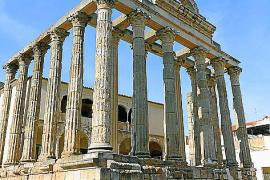Auch römische Ruinen gibt's nebens Spaniens Flüssen.