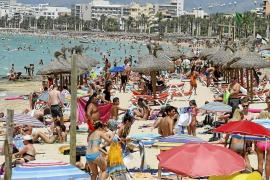 Am 13. August war Mallorca am vollsten