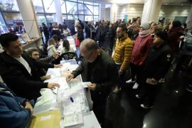 Geringe Wahlbeteiligung auf den Balearen