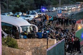 Verkehrschaos bei Messi-Training auf Mallorca