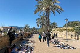 Härte gegen Straßenhandel auf Mallorca bleibt aus
