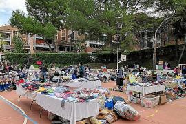 In Peguera lockt wieder der Kinderflohmarkt