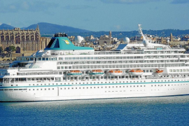 "Ex-""Royal Viking Sun"" unter neuem Namen in Palma"