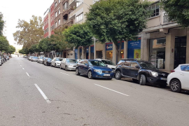 Falschparkerstraße ärgert Anwohner in Palma