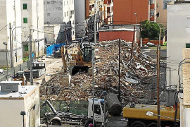 Palmas Problemviertel Corea wird weiter eingerissen