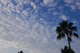 Neues Regengebiet nimmt Kurs auf Mallorca