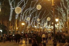 Palmas Weihnachtslichter erstmals allein auf LED-Basis