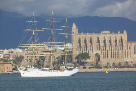 Traditionssegler beehrt Palma mit seinem Besuch