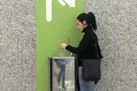 Zahl der Wasserspender im Mallorca-Airport verdoppelt