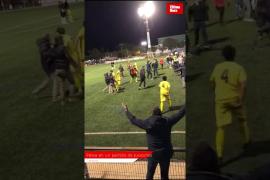 Massenschlägerei bei Fußballspiel in Campos