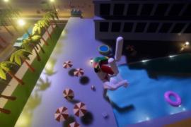 Balkon-Springen jetzt zu Computerspiel verarbeitet