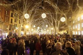 Weihnachtsbeleuchtung von Palma feierlich angeknipst