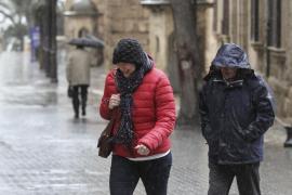 Schmuddel-Front mit viel Wind erreicht Mallorca