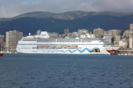 Große Probleme nach Aida-Schiffstaufe in Palma