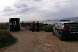 Bürgerkriegs-Bombe an Cala Gamba gesprengt