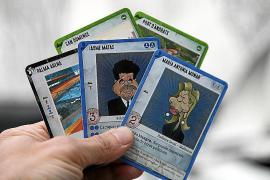 Kurioses Korruptions- Kartenspiel ersonnen