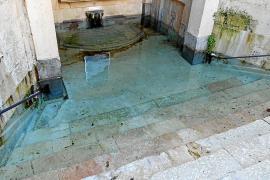Brunnen von Santa Margalida komplett übergelaufen