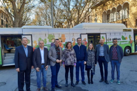 Palma stellt nagelneue Stadtbusse vor