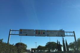 Schwerer Unfall auf Flughafenautobahn in Palma