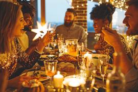 Silvester auf Mallorca: Erst speisen und dann feiern