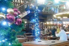 Das spezielle Weihnachts- Gefühl im Bierkönig