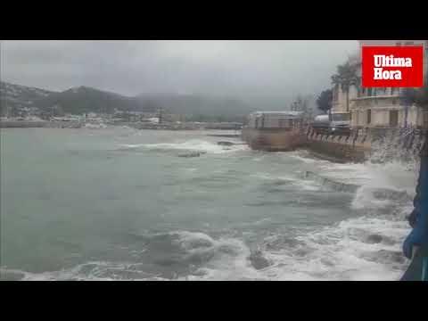 Windiges Tiefdruckgebiet deckt Mallorca mit Regen ein
