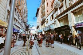 Neue Fußgängerzone in Palma feierlich eingeweiht
