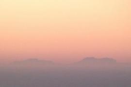 Ein Blick vom Festland nach Mallorca als Geschenk