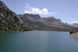Trinkwasserverlust um halben Gorg-Blau-See verringert