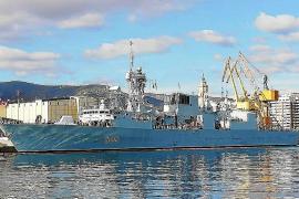 Kanadisches Kriegsschiff zu Gast in Palma