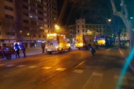 Bus überrollt Fußgänger auf Palmas Innenstadtring