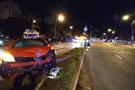 Morgendlicher Crash auf Palmas Hafenpromenade