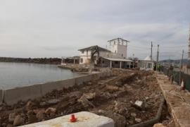 Molinar-Hafen kaum mehr wiederzuerkennen