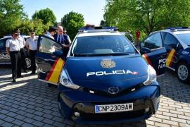 Super-Auto der Polizei voll im Einsatz in Palma