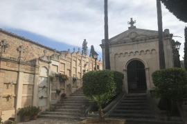 Friedhof von Andratx in bemitleidenswertem Zustand