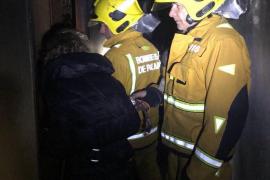 Brand in neunstöckigem Wohnhaus in Palma